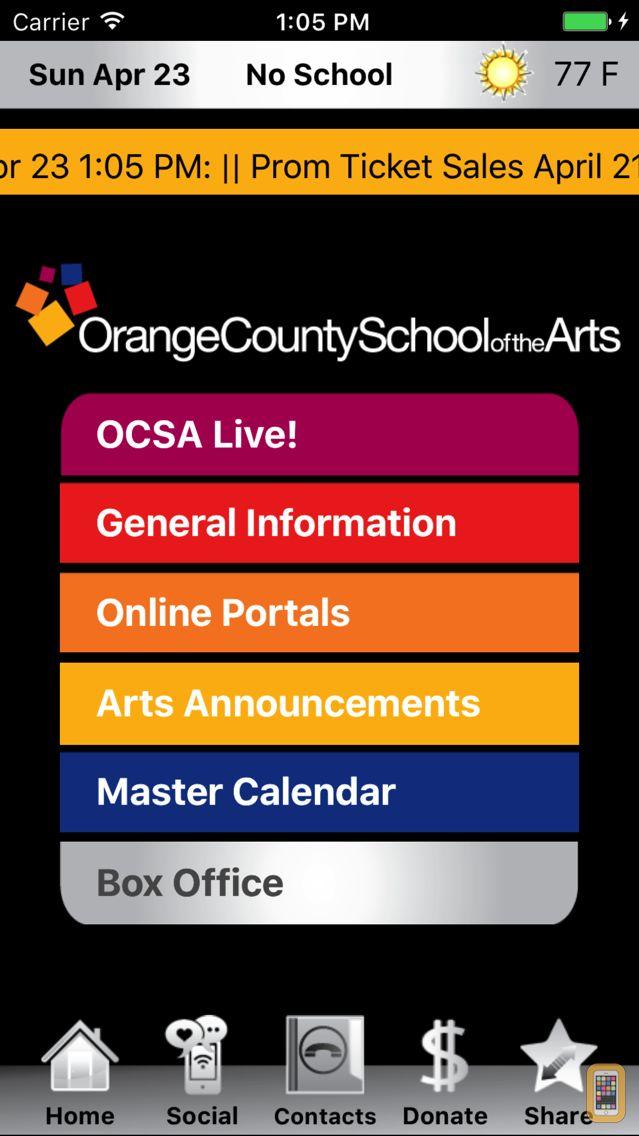 Screenshot - Orange County School of the Arts