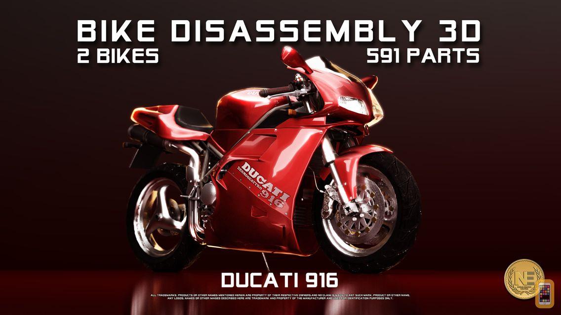 Screenshot - Bike Disassembly 3D