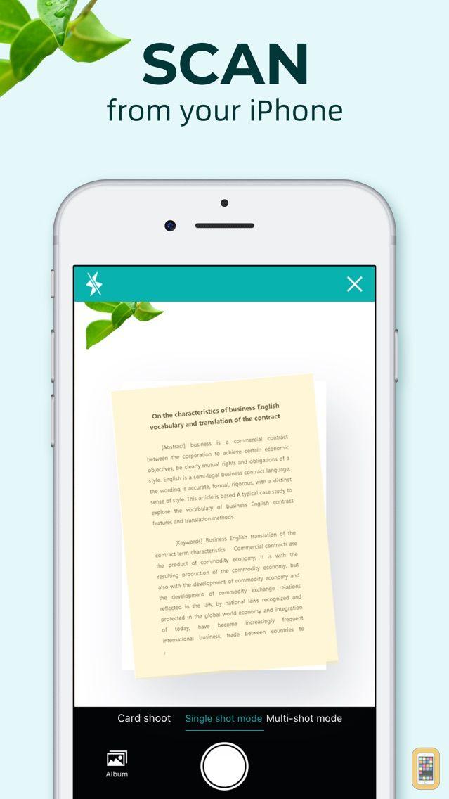 Screenshot - pdf scanner – Wordscanner pro