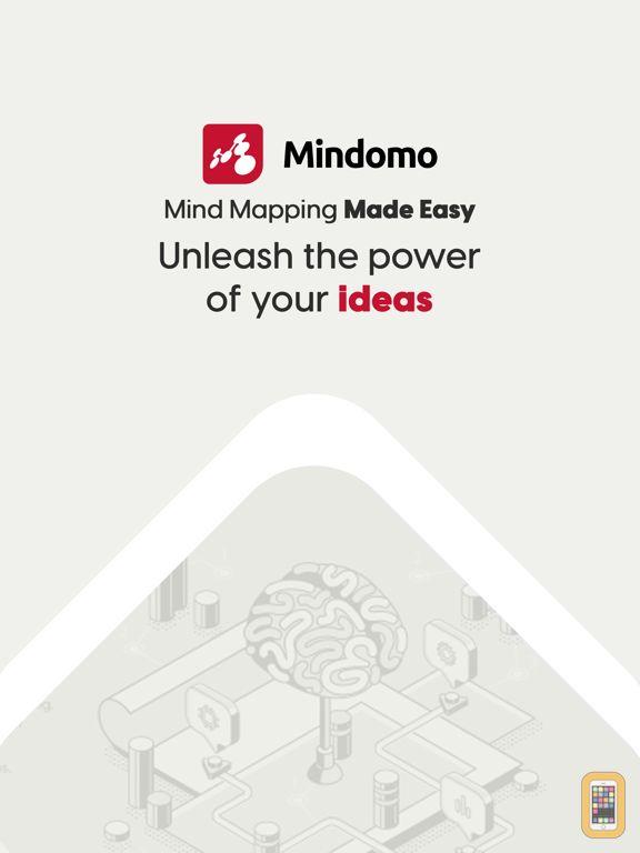 Screenshot - Mindomo (mind mapping)