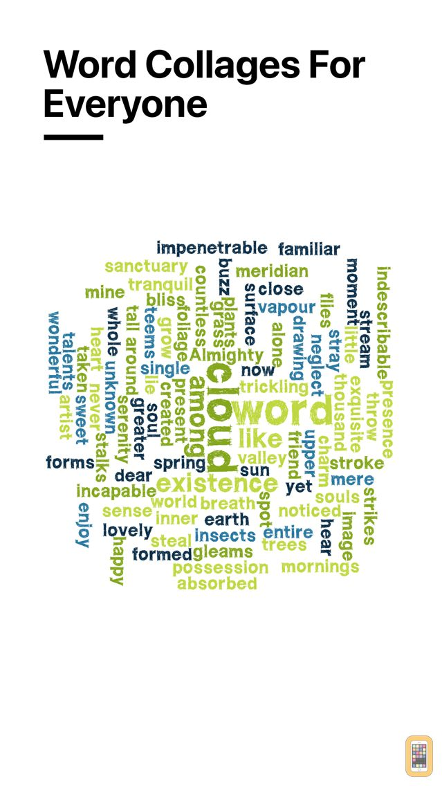 Screenshot - Word Collage