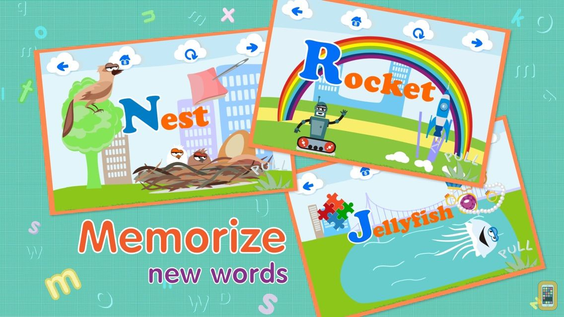 Screenshot - ABCs alphabet phonics games for kids based on Montessori learining approach