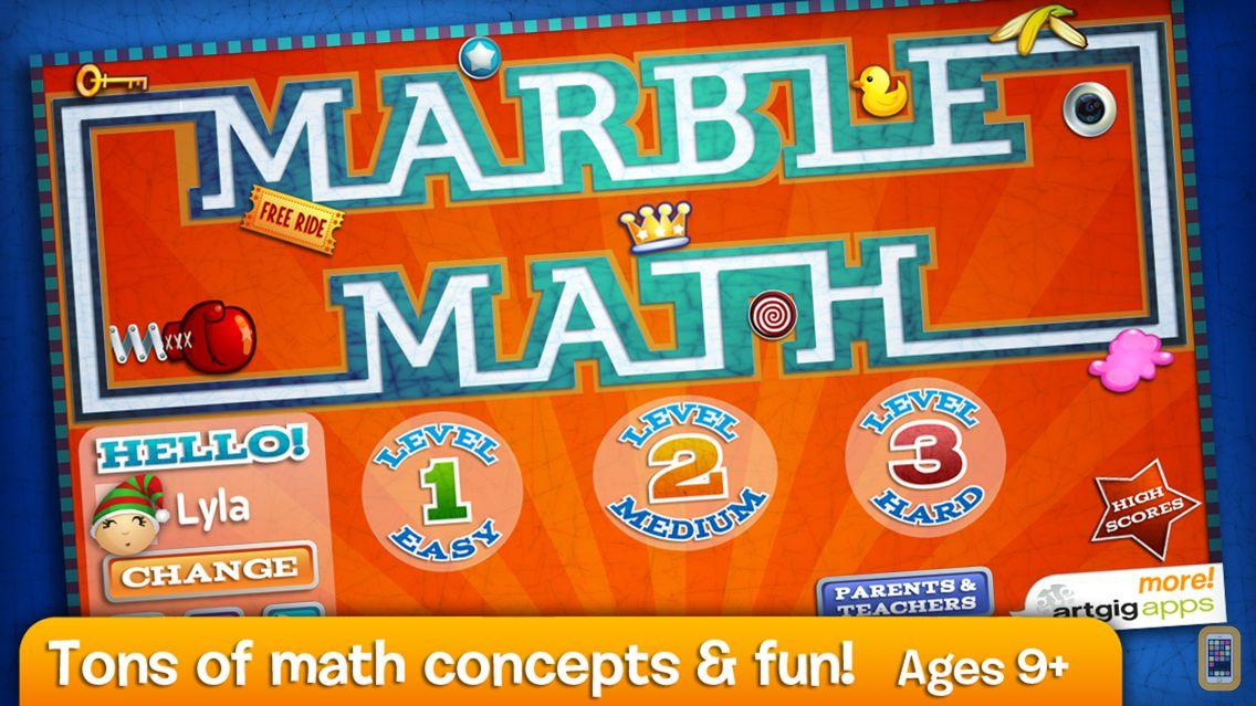 Screenshot - Marble Math