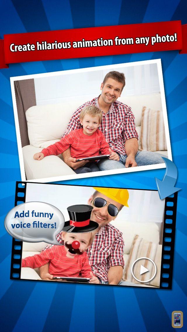 Screenshot - iFunFace - Talking Photos, eCards and Funny Videos