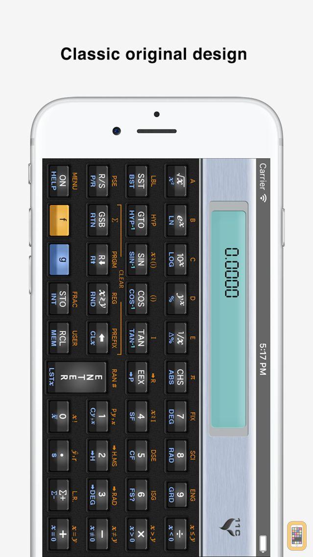 Screenshot - 11C Scientific Calculator