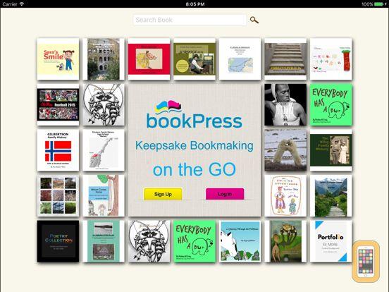 bookPress - Best Book Creator for iPad - App Info & Stats