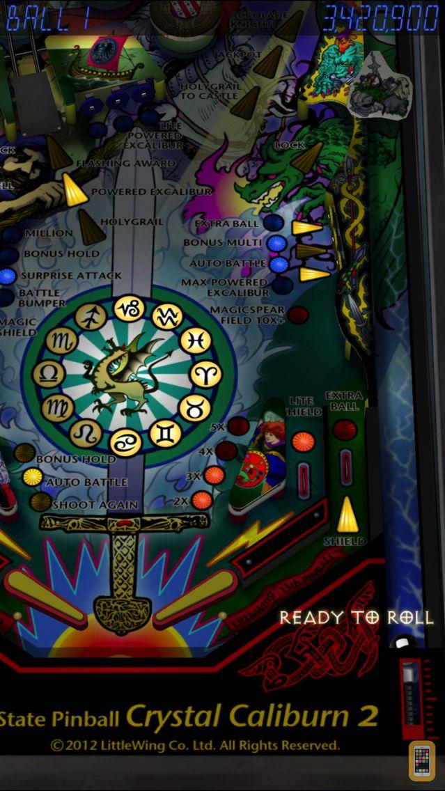 Screenshot - Pinball Crystal Caliburn II