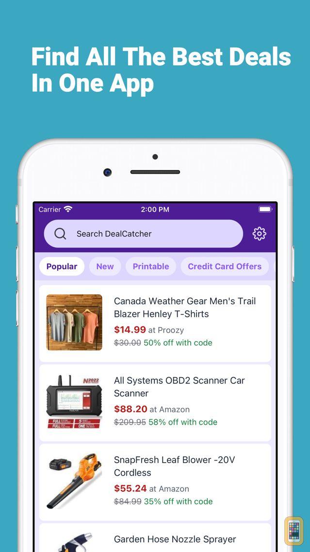 Screenshot - DealCatcher: Coupons & Deals Shopping App