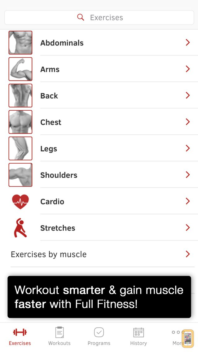 Screenshot - Full Fitness : Exercise Workout Trainer