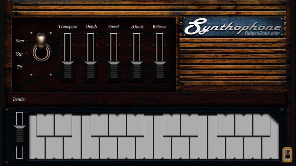 Screenshot - Synthophone   Stylophone clone