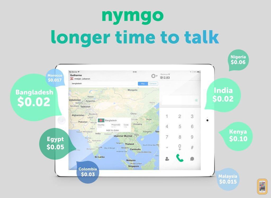 Screenshot - Nymgo for iPad