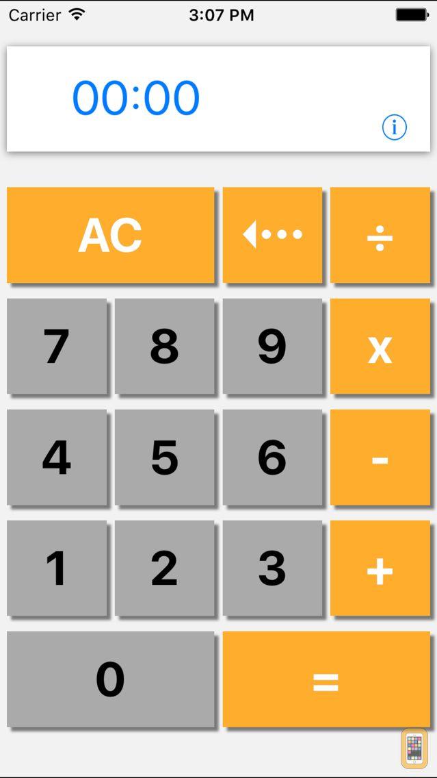 Screenshot - Hours & Minutes Calculator