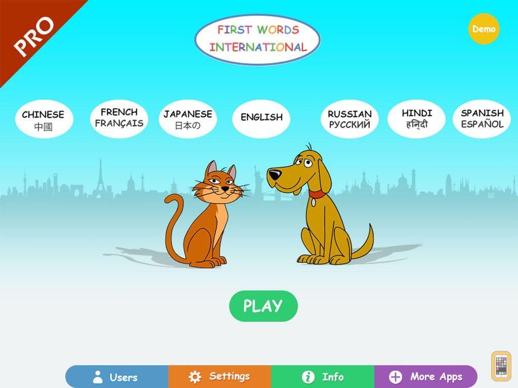 Screenshot - First Words Int. Pro HD