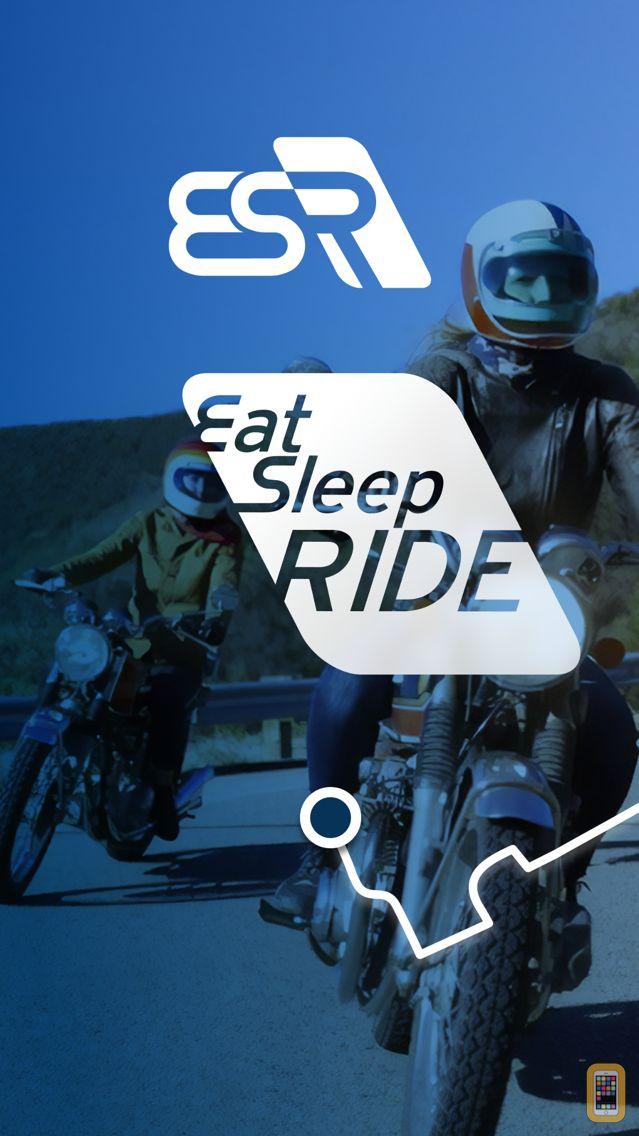 Screenshot - EatSleepRIDE Motorcycle GPS