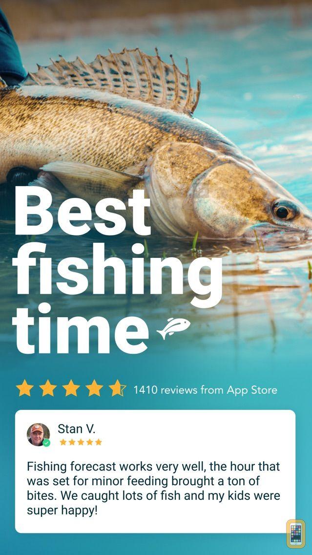 Screenshot - Fishing Forecast App: Fishbox