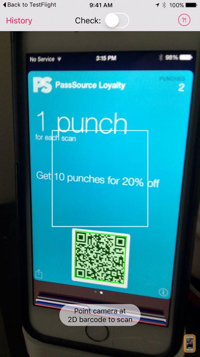 Screenshot - Pass Scanner