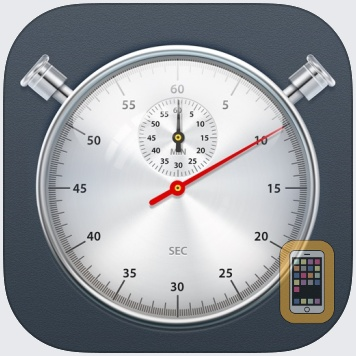 Stopwatch+ for Track & Field by Diesel Puppet Ltd (Universal)