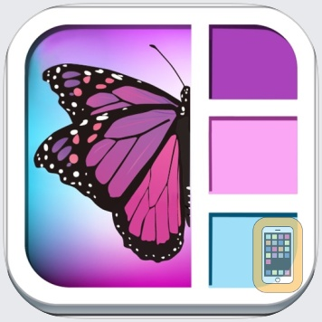 Foto Frame DLX- easy Arty Superimpose yr Picture Frames Chop + Photo Frames + Picture Collage for Instagram Free by Min Li (Universal)