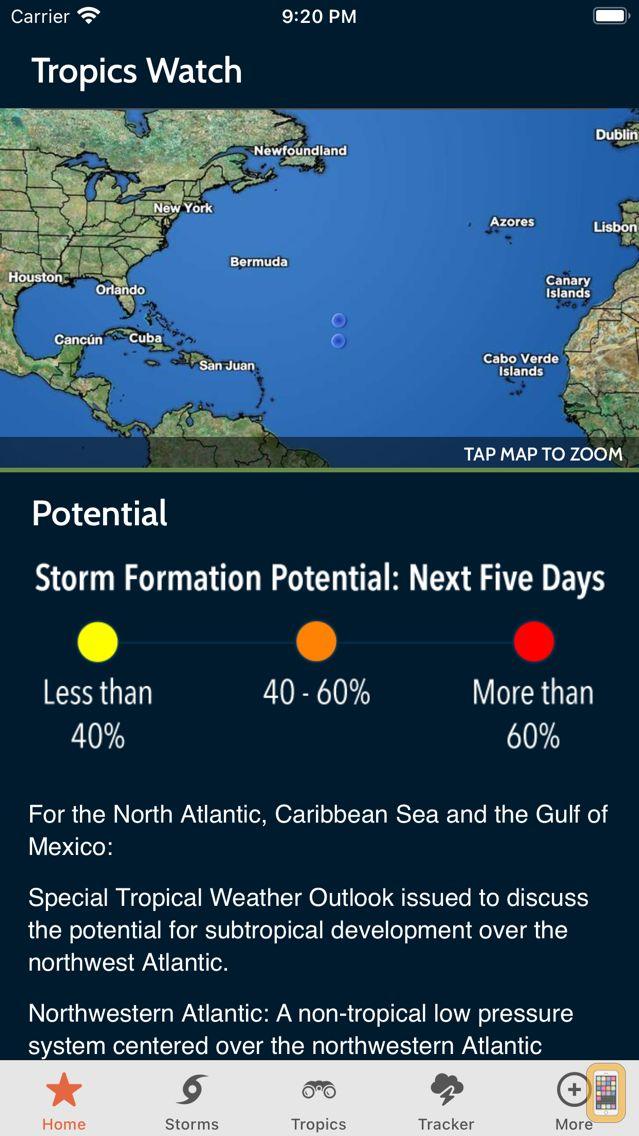 Screenshot - Max Tracker Hurricane WPLG