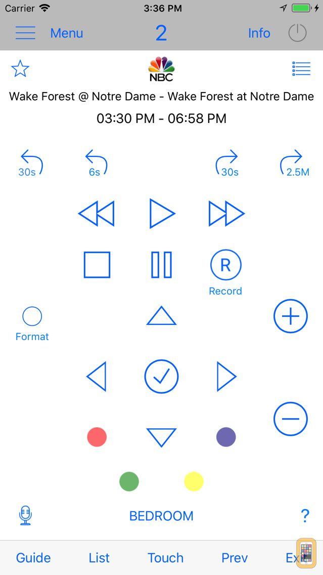 Screenshot - Direct Remote for DIRECTV