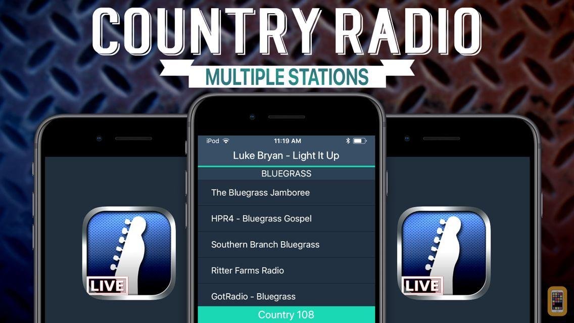 Screenshot - Country Radio+