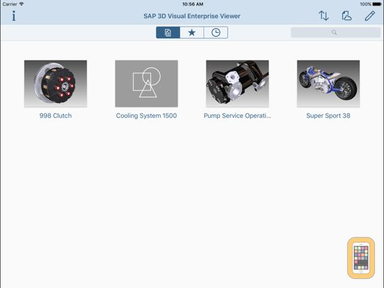 Screenshot - SAP 3D Visual Enterprise Viewer