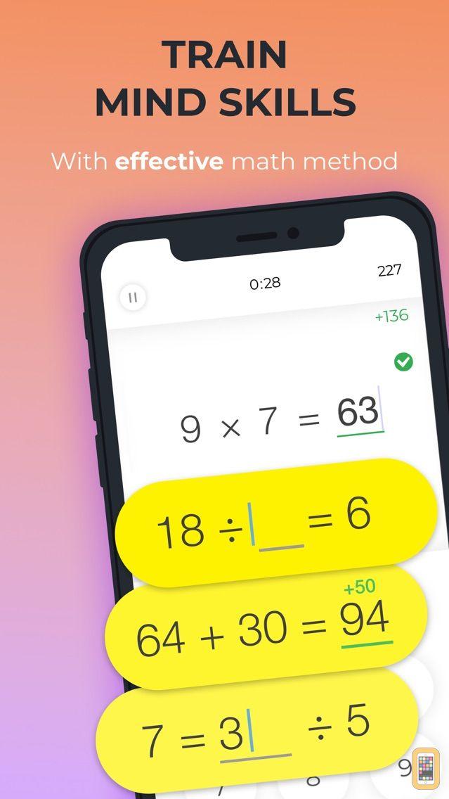 Screenshot - Math Brain Booster Games