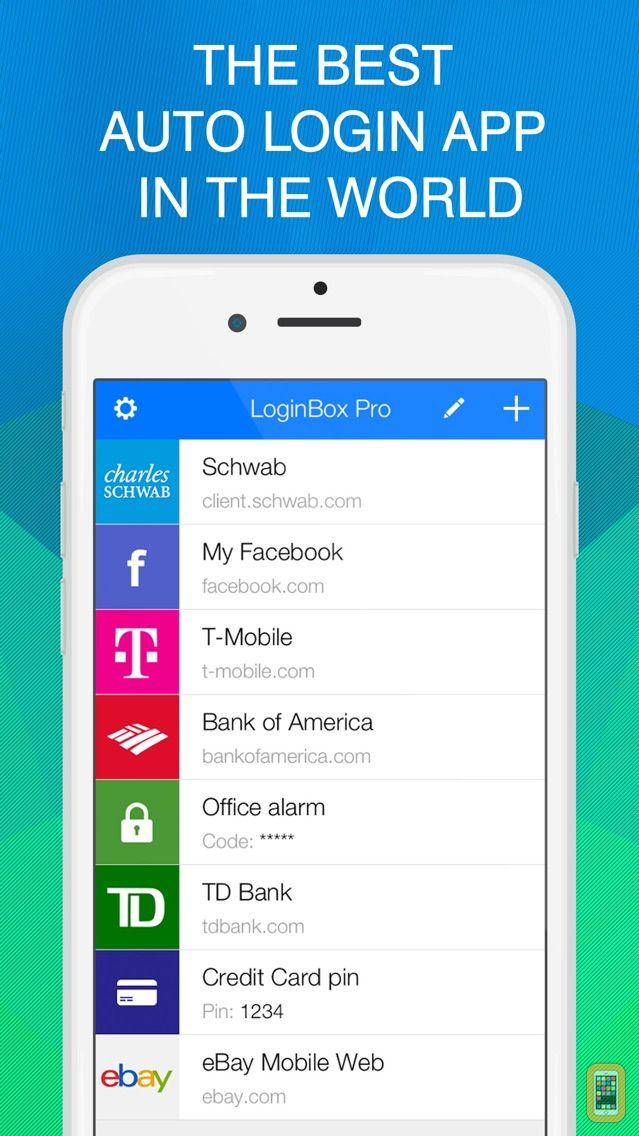 Screenshot - Password & Keychain Secured Manager - LoginBox