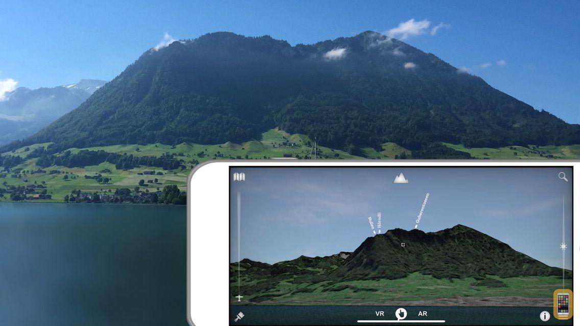 Screenshot - Swiss3D - Virtual map