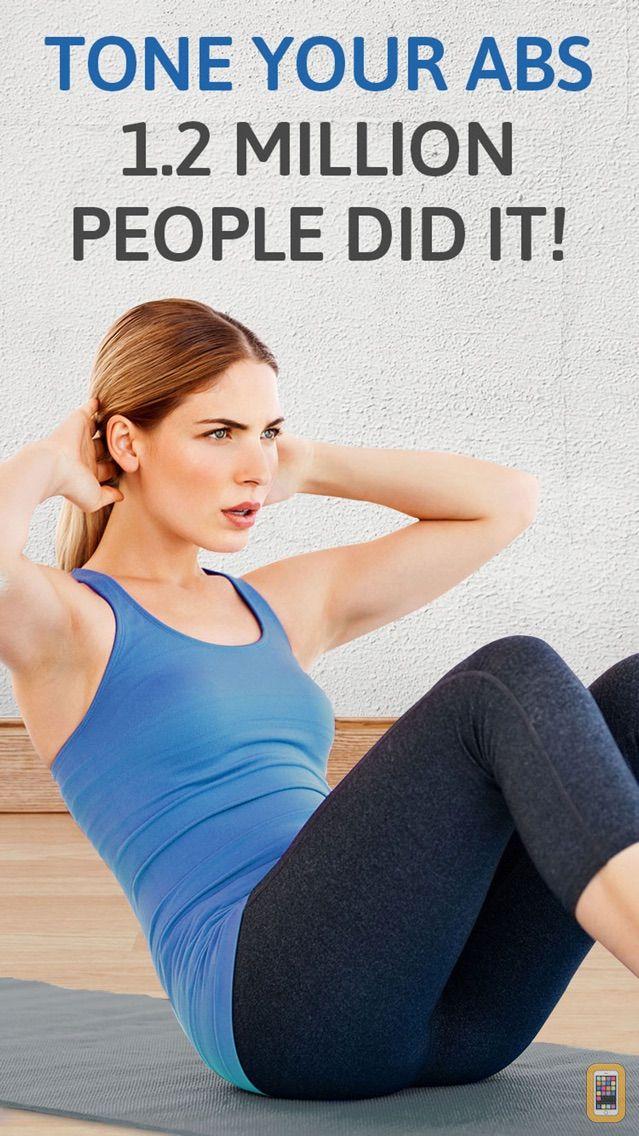 Screenshot - Abs Workout: 200 sit ups pro