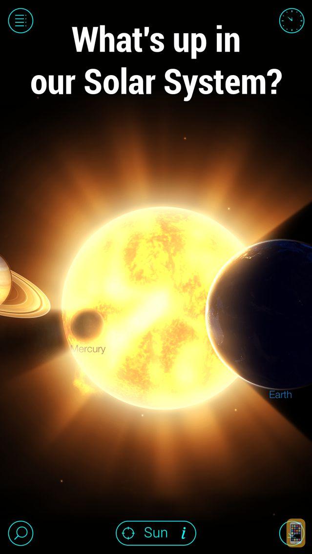 Screenshot - Solar Walk Ads+: Explore Space