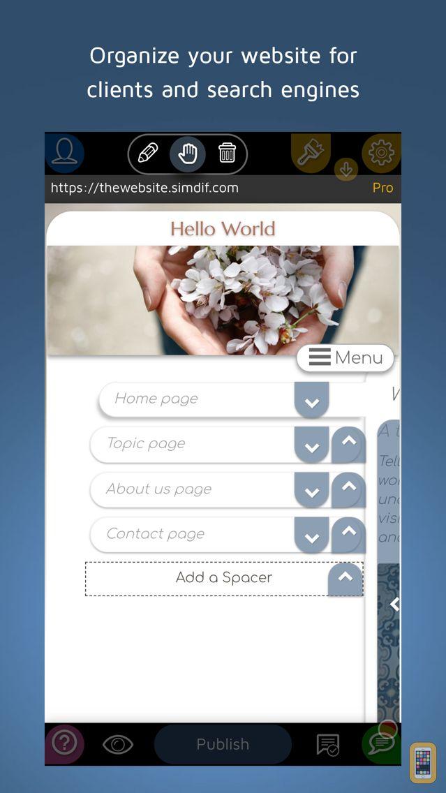 Screenshot - SimDif Website Builder