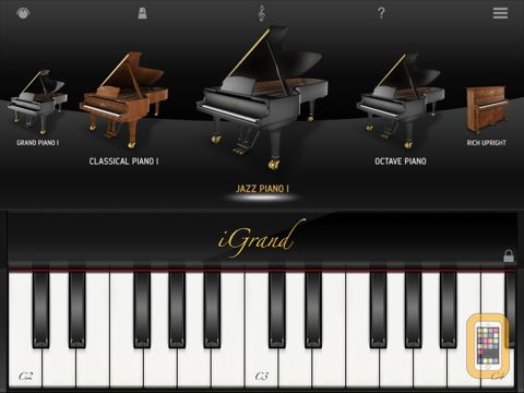 Screenshot - iGrand Piano for iPad