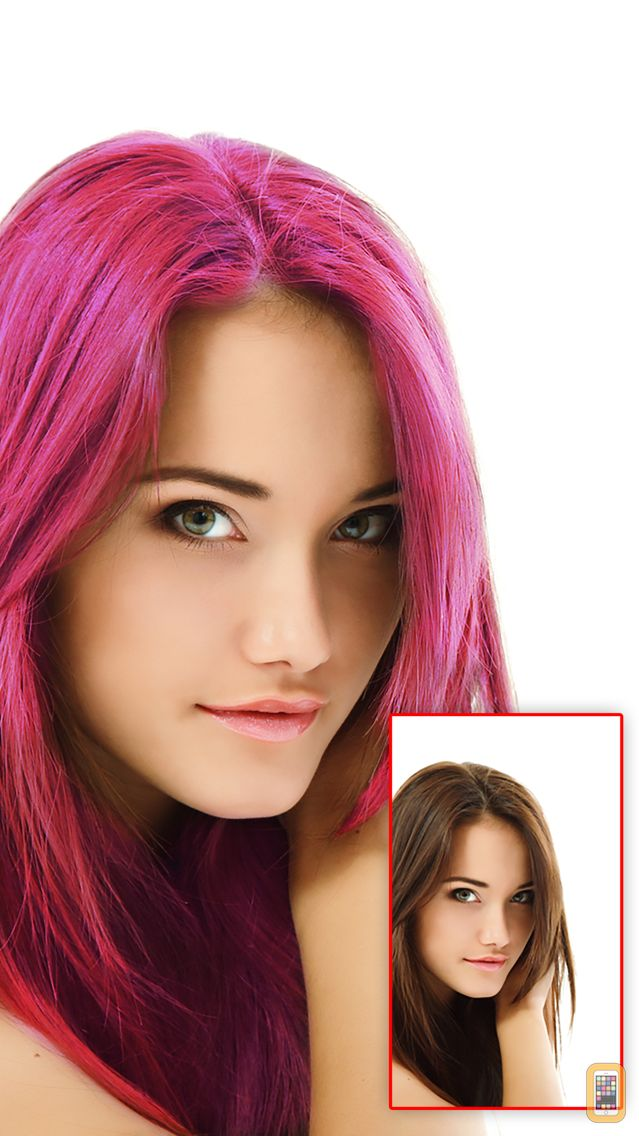 Screenshot - Hair Color Pro - Discover Your Best Hair Color