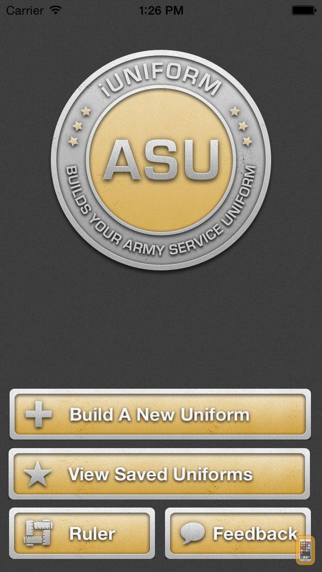 Screenshot - iUniform ASU - Builds Your Army Service Uniform