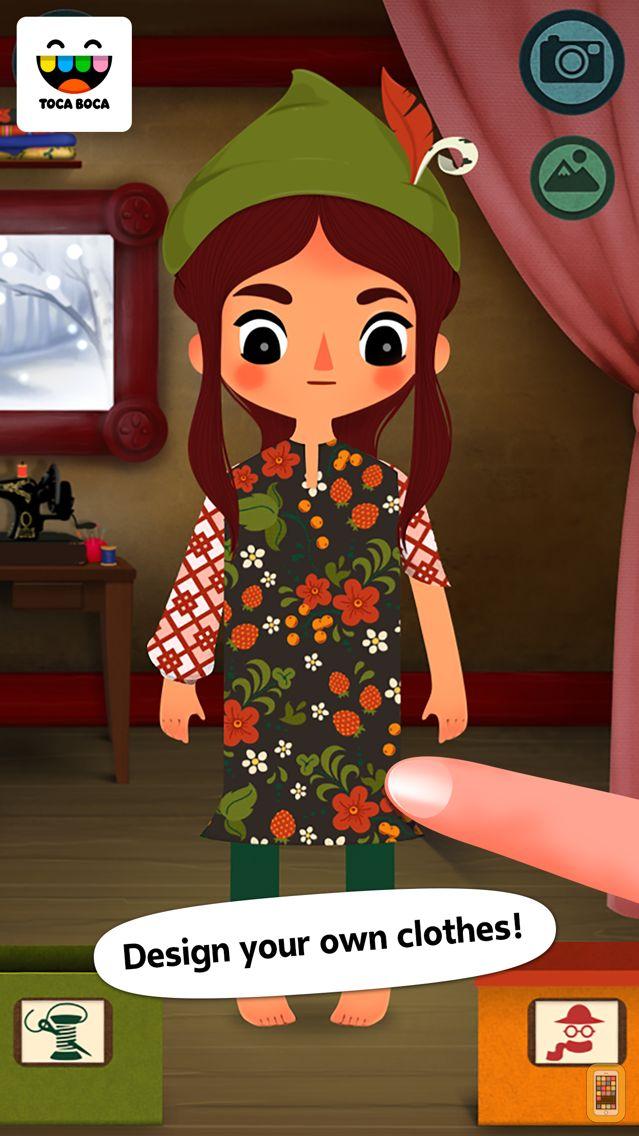 Screenshot - Toca Tailor Fairy Tales