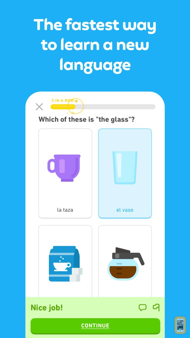 Screenshot - Duolingo