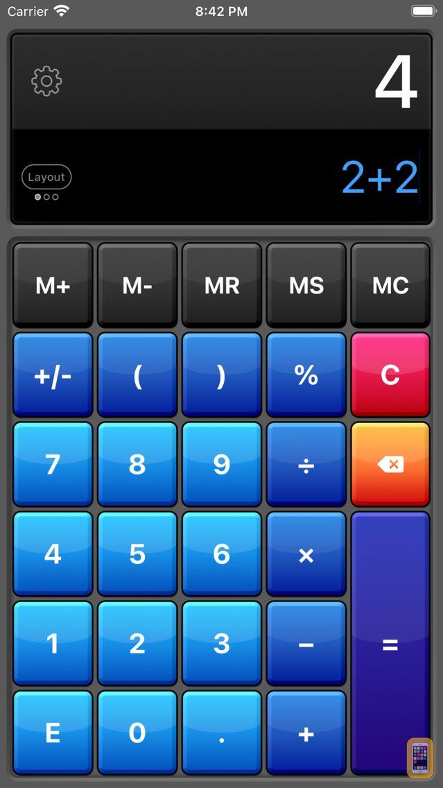 Screenshot - Calculator HD Pro Lite