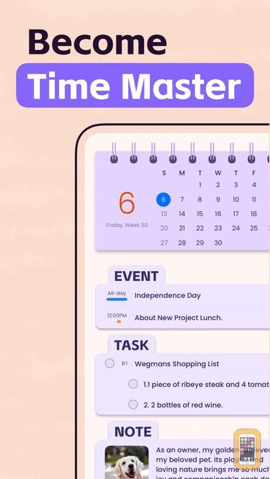 Screenshot - Planner Pro - Daily Calendar