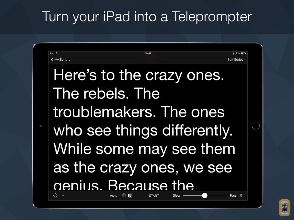 Screenshot - Teleprompter Pro