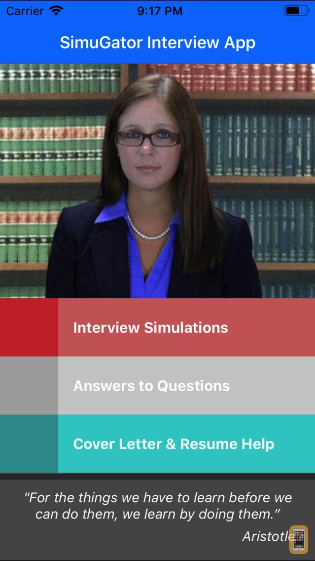 Screenshot - Job Interview Prep - SimuGator