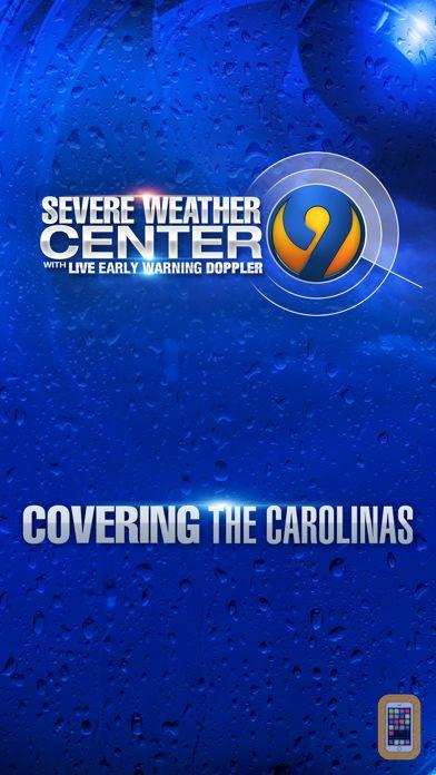 Screenshot - WSOC-TV Channel 9 Weather App