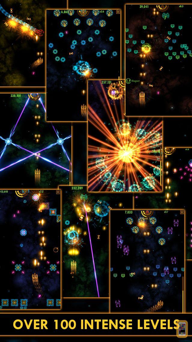 Screenshot - Plasma Sky - a rad retro arcade space shooter