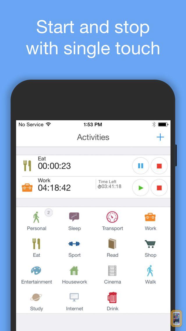 Screenshot - aTimeLogger Time Tracker