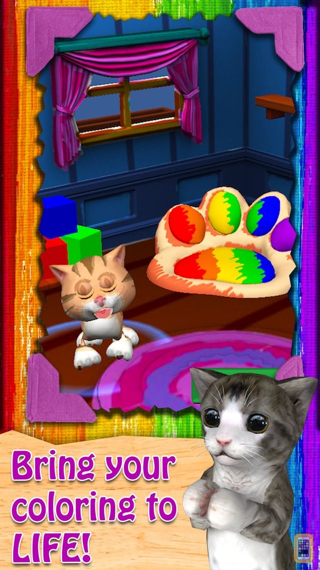 Screenshot - Paint My Cat - Color and Play