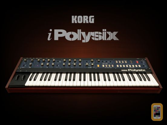 Screenshot - KORG iPolysix for iPad