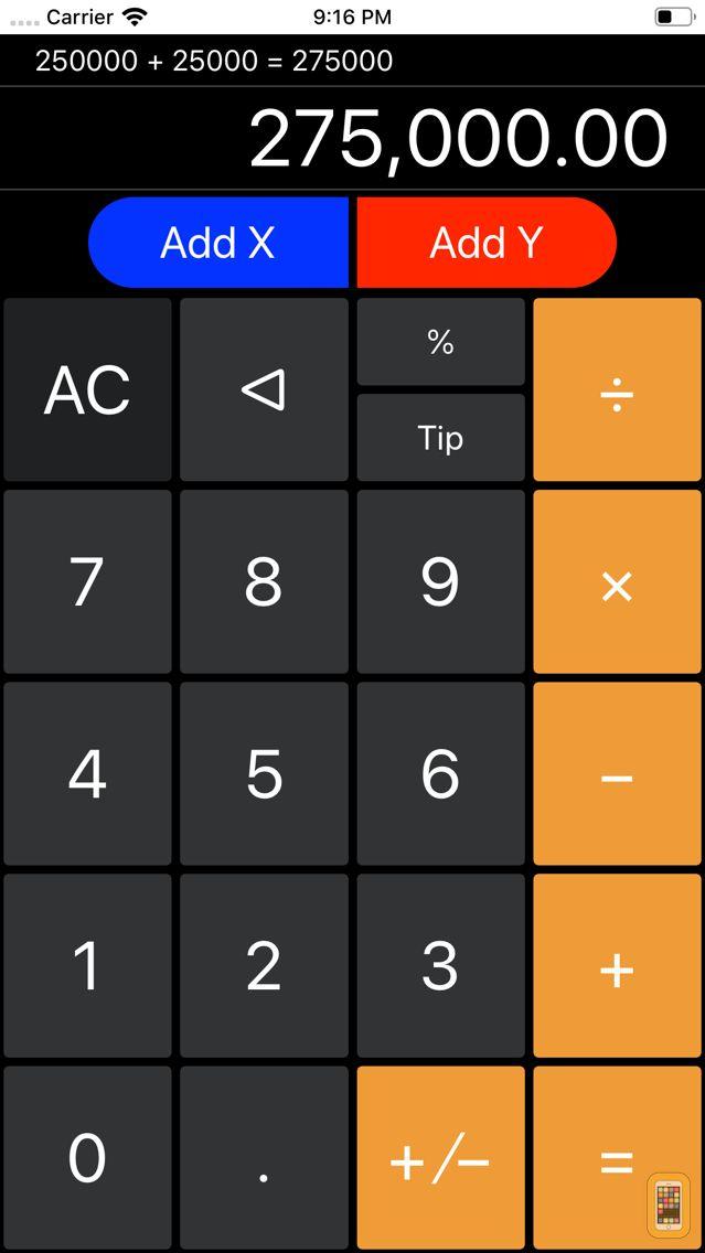 Screenshot - Financial Calculator++