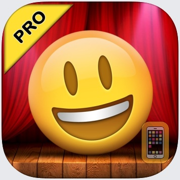 Talking Emoji Pro - Send Video Texting Emoticons using Voice Changer and Dash Emoji Geometry Stick Game by Makeover Mania Story Games (Universal)