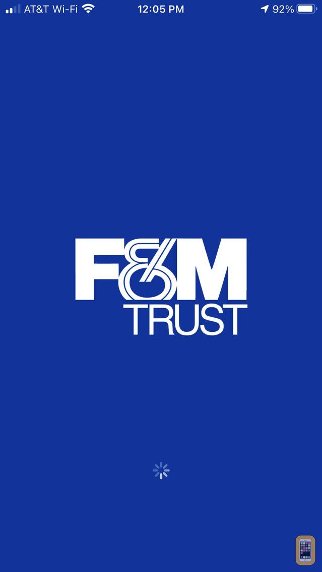 Screenshot - F&M Trust Mobile