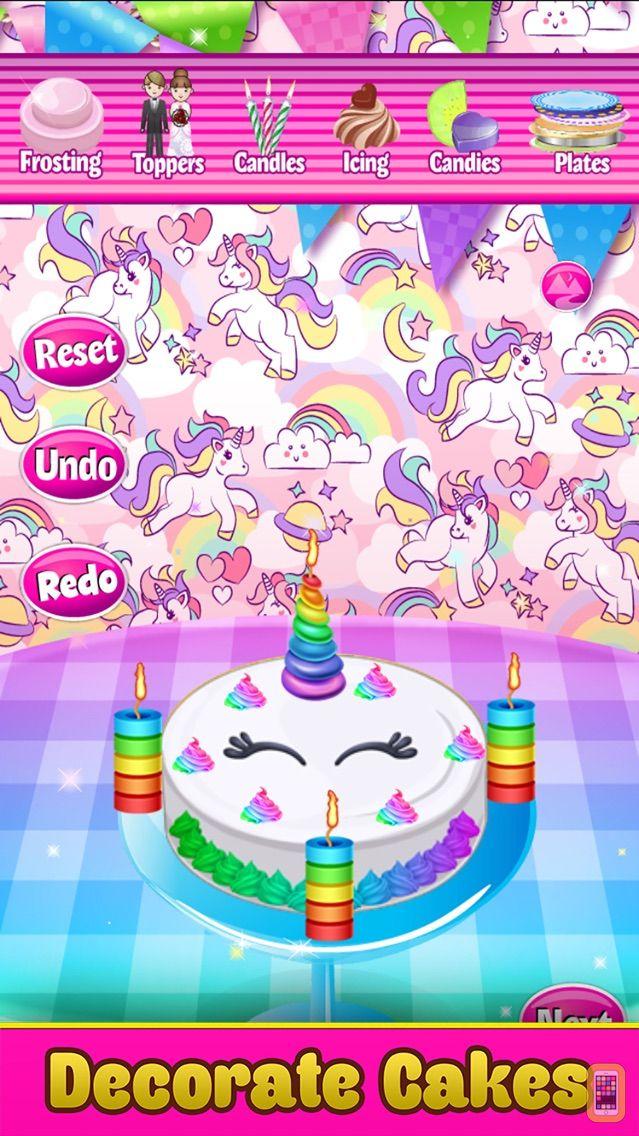 Screenshot - Cake Baker - Salon Food Maker & Cooking Kids Games